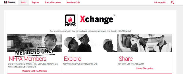 NFPA Xchange Online Portal